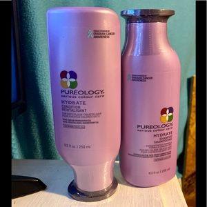 NWT Pureology shampoo & conditioner set (2) 8.5 fl